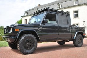 G-Mercedes LLC: One-off Custom build 4-door G500 XL Pick-up