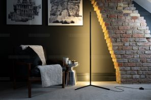 Rue Colour Changing LED Corner Floor Lamp