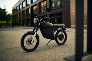 BlackTea Electric Adventure Moped
