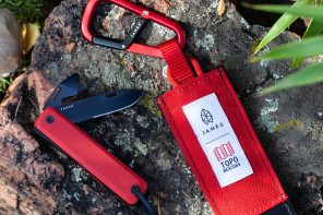 TOPO DESIGNS X JAMES BRAND KNIFE KIT