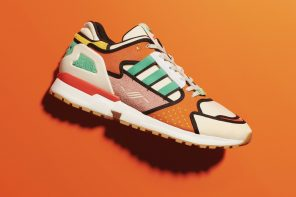 Adidas Originals ZX 1000 C x The Simpsons 'Krusty Burger' Sneakers