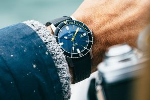 "Huckberry x Zodiac Super Sea Wolf ""Farallon"" Watch"